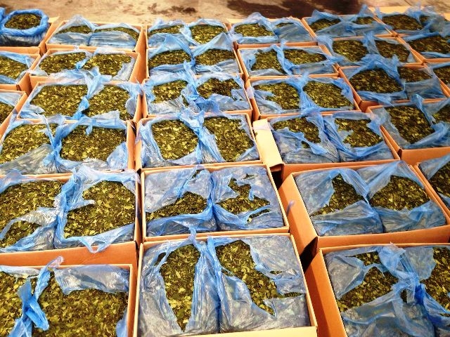 Police confiscate khat leaf haul