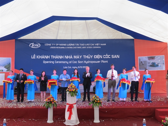 Cốc San power plant opens