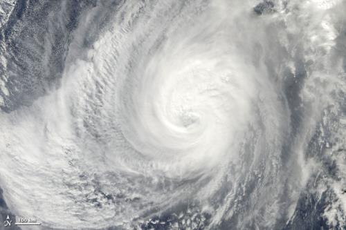 Tropical storm Nida appears near E Sea