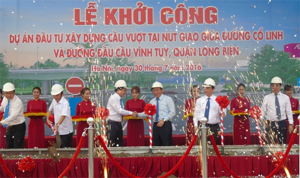 Construction begins on new overpass in Hà Nội