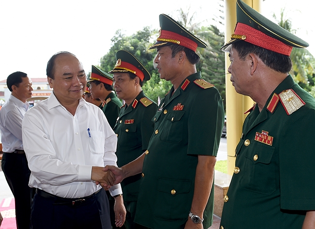 PM hails efforts of Military Region 4