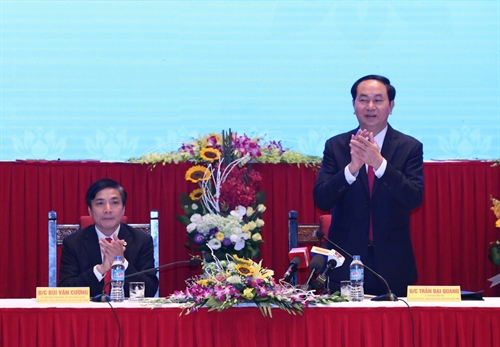 President urges reform of trade union activities