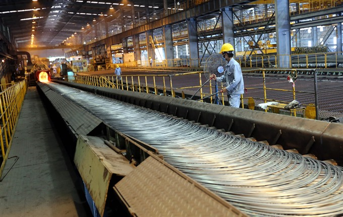VN to produce 11.3b tonnes of crude rolled steel