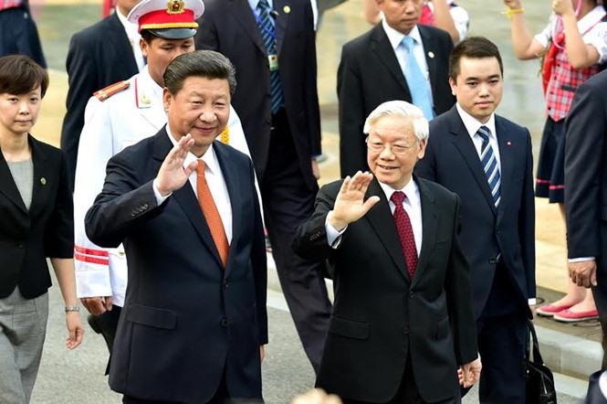 Party chiefs visit to define Vietnam-China direction