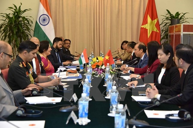 Việt Nam India hold strategic talks