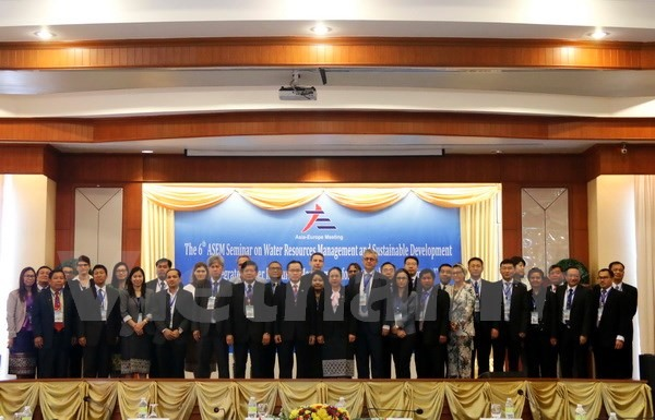Viet Nam joins ASEM seminar on water resources management in Laos