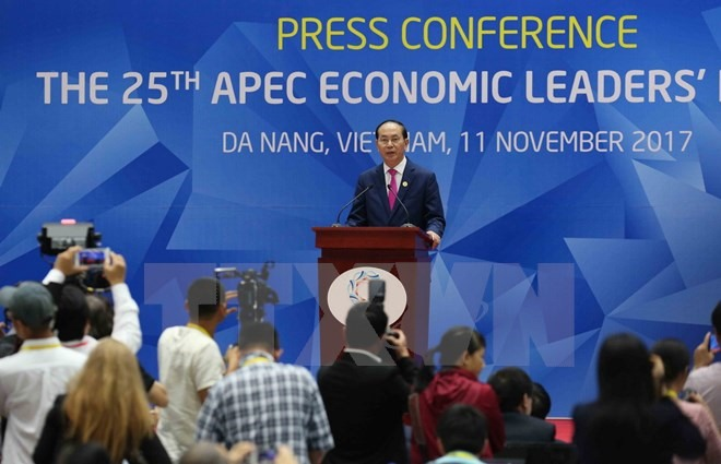 The 25th APEC Economic Leaders Meeting adopts Đà Nẵng Declaration