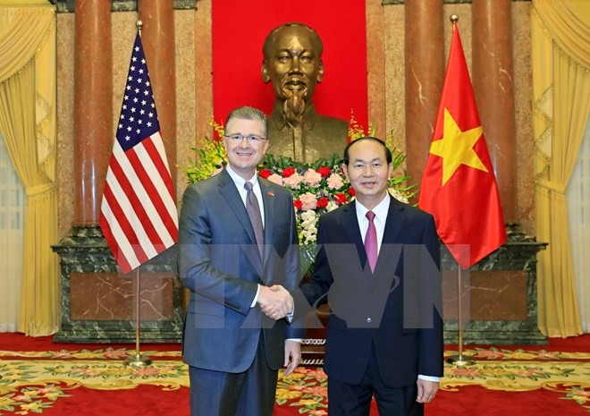 President Quang welcomes newly-accredited ambassadors