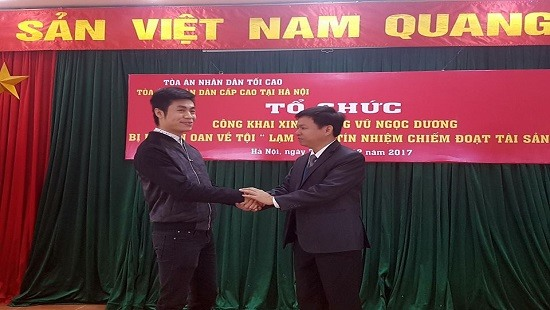 Hà Nội Court apologises to wrongly-sentenced man