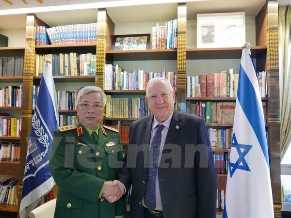 Israel-VN to upgrade defence ties