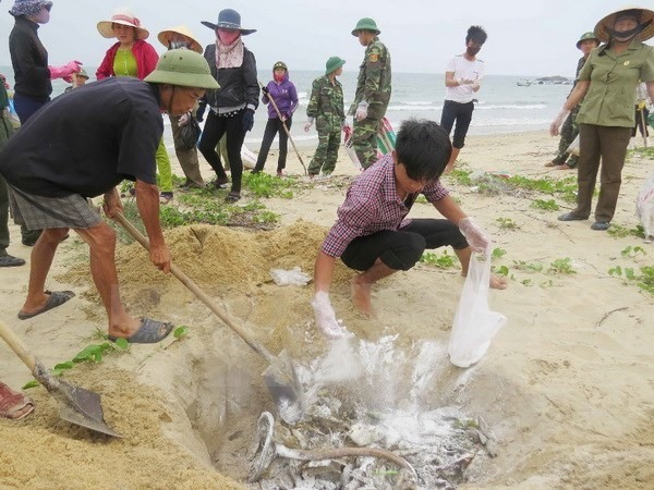 Bodies individuals related to Formosa disaster made public