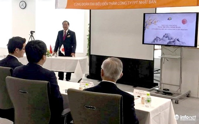 VN seeks ICT links with Japan