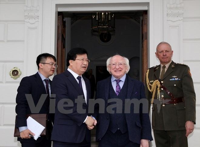 Deputy PM wants Irish support in EU relations