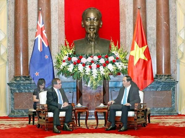 President calls for closer NZ relations