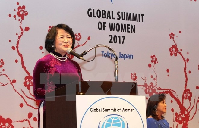 VN active at Global Summit of Women in Tokyo