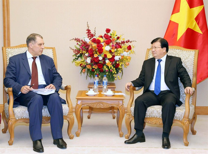 Việt Nam supports Russian investors in oil gas sector