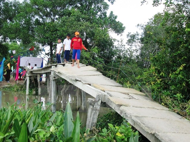 Central Highlands lack of bridges leading to danger