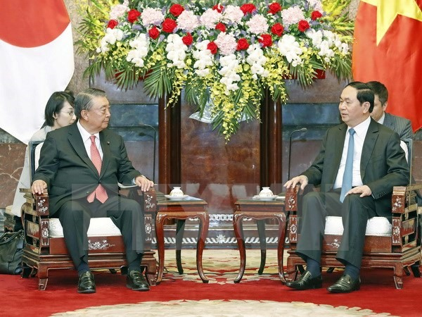 Japan a long-term partner says President Quang