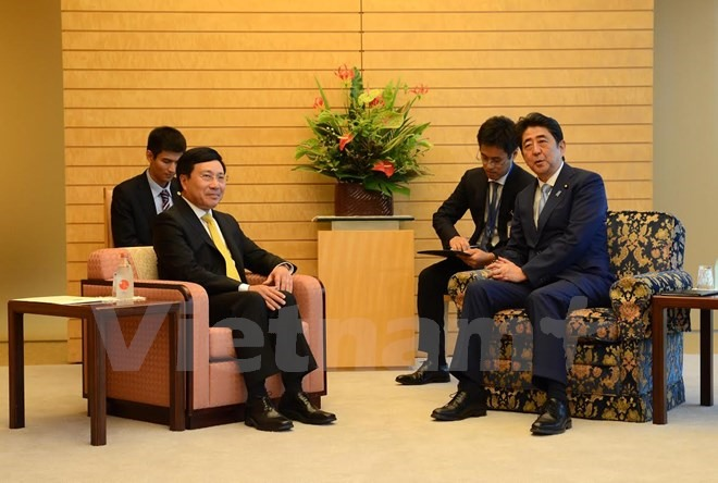 Deputy PM meets with Japanese leaders