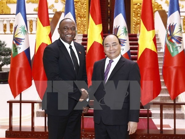 PM calls for strong practical effective ties with Haiti