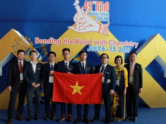 VN kids bag gold at Intl Chemistry Olympiad