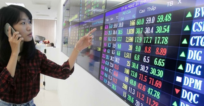VN stocks advance on both bourses