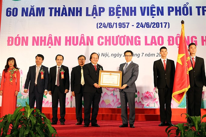 VN to wipe out TB in 2030 says Deputy PM