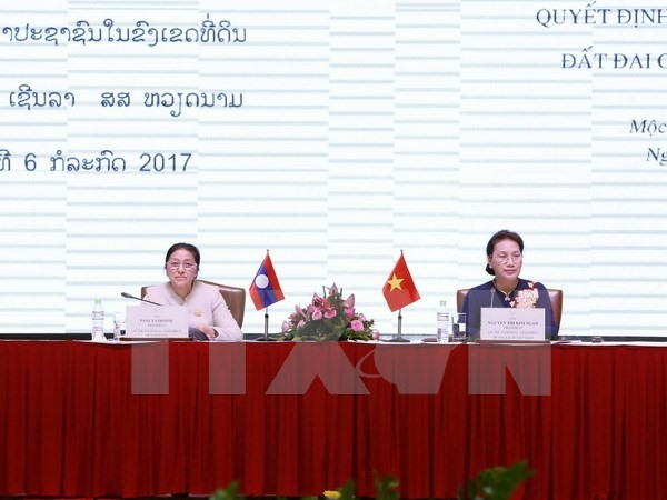 Laos-VN share experiences on land issues