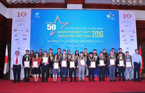 VINASAs programme honours top 50 IT firms