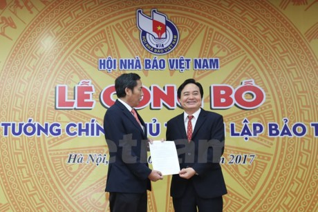 Vietnam Press Museum set up