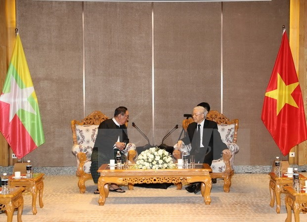 VN seeks to expand multifaceted ties with Myanmar: Party leader