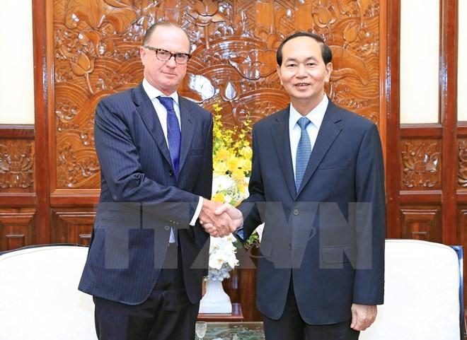President bids farewell to Austrian Slovakian Ambassador