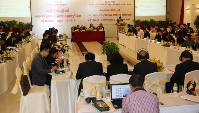 VN Cambodia hold judicial conference for border areas