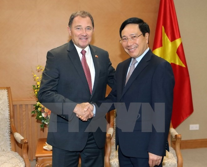 Deputy PM asks Utah to increase investment in Việt Nam