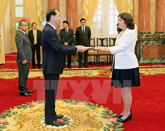 President Quang welcomes new foreign ambassadors to Việt Nam