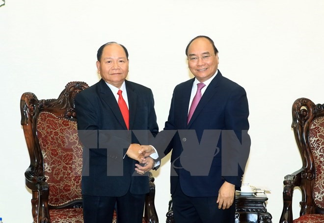 PM lauds VN-Lao home affairs co-operation