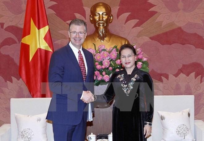 VN keen to deepen ties with US: top legislator