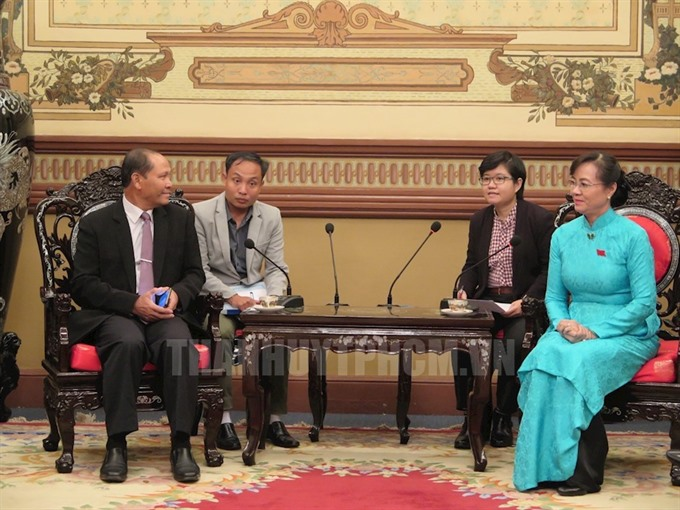HCM City Laos officials share experiences in land management