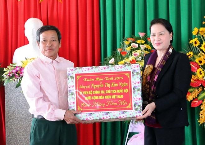 NA Chairwoman visits Hà Tĩnh
