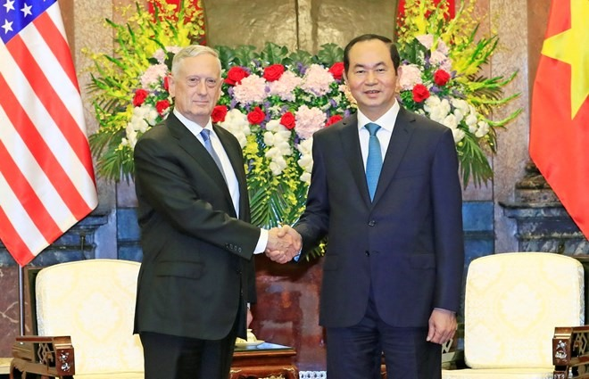 VN TREASURES TIES WITH THE US: QUANG