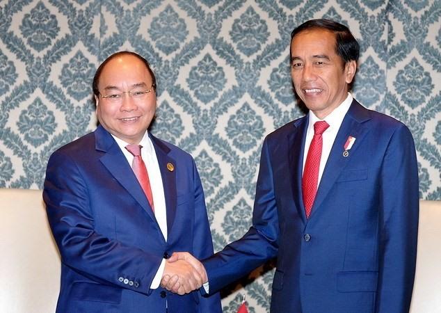 PM meets Cambodia Indonesia leaders