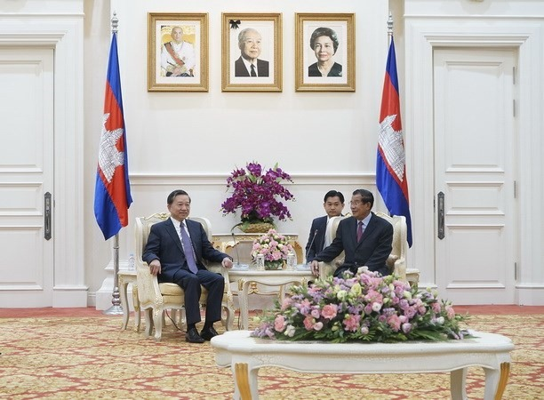 VN Cambodia to fortify security coordination
