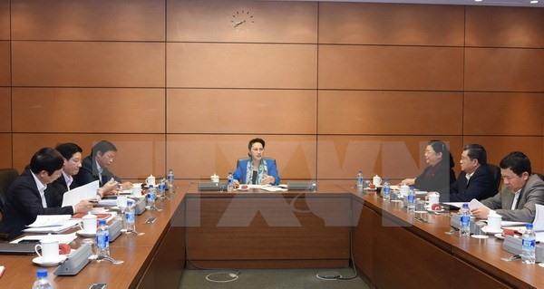 Parliamentarians prepare for meeting