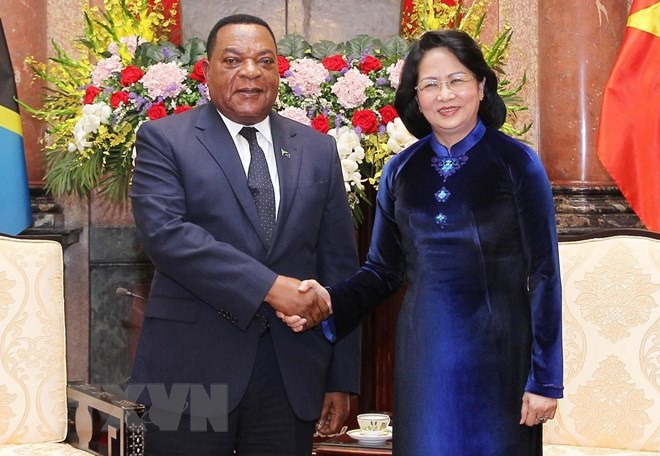 Tanzania a prioritised African partner of VN: Acting President