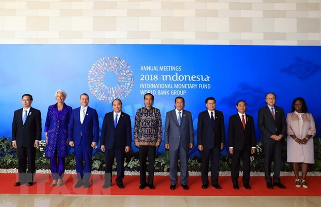 Prime Minister joins IMF-WB meeting in Bali