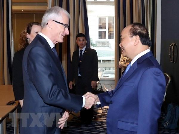 PM meets leaders of Belgiums Flanders Wallonia regions