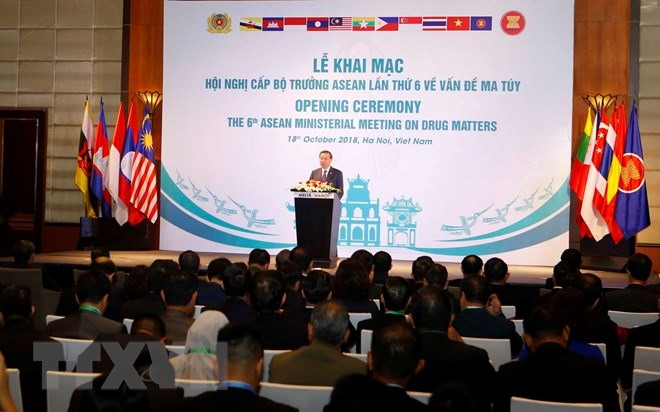 Threat from the illicit drugs production and trafficking the ASEAN meeting heard
