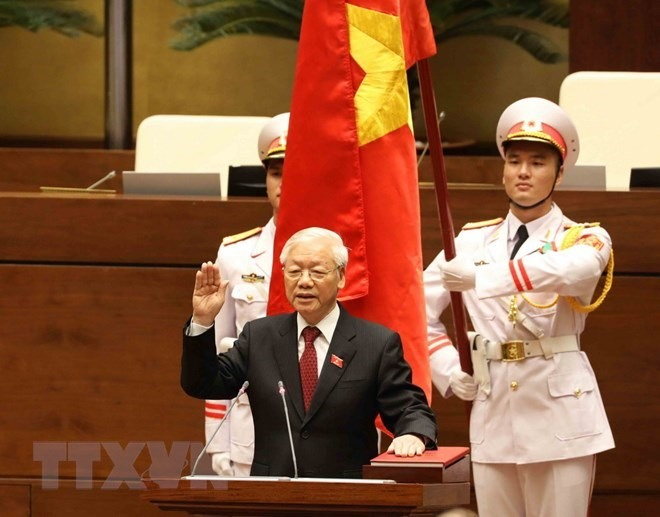 Foreign leaders congratulate President Nguyễn Phú Trọng