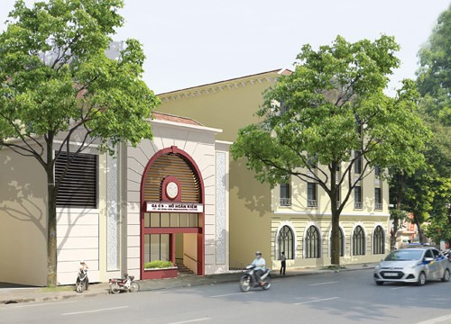 Hà Nộis new urban underground station will not harm historical sites