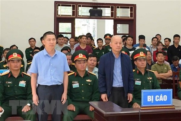 12-year jail sentence upheld for Đinh Ngọc Hệ